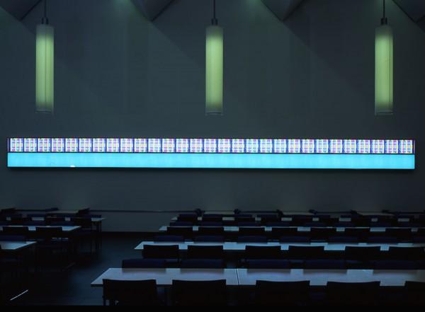 Dynamisches Lichtband I, 2001