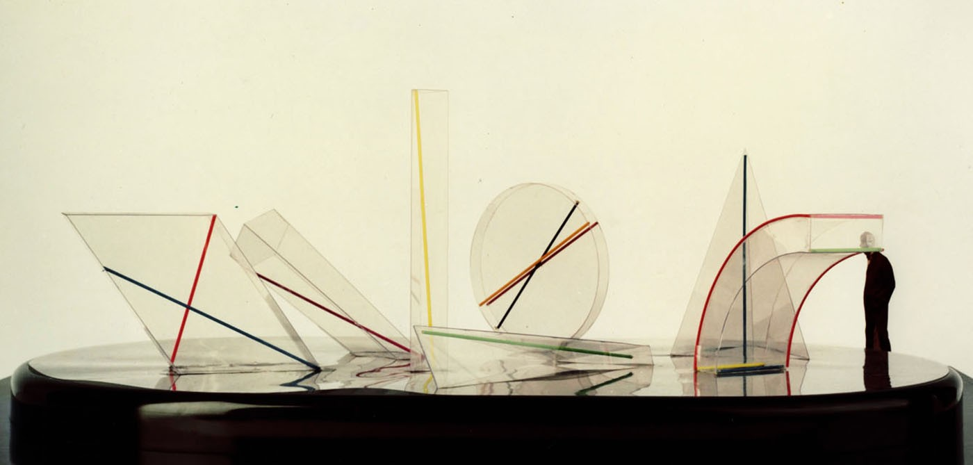 Sieben Lichtkörper, 1982