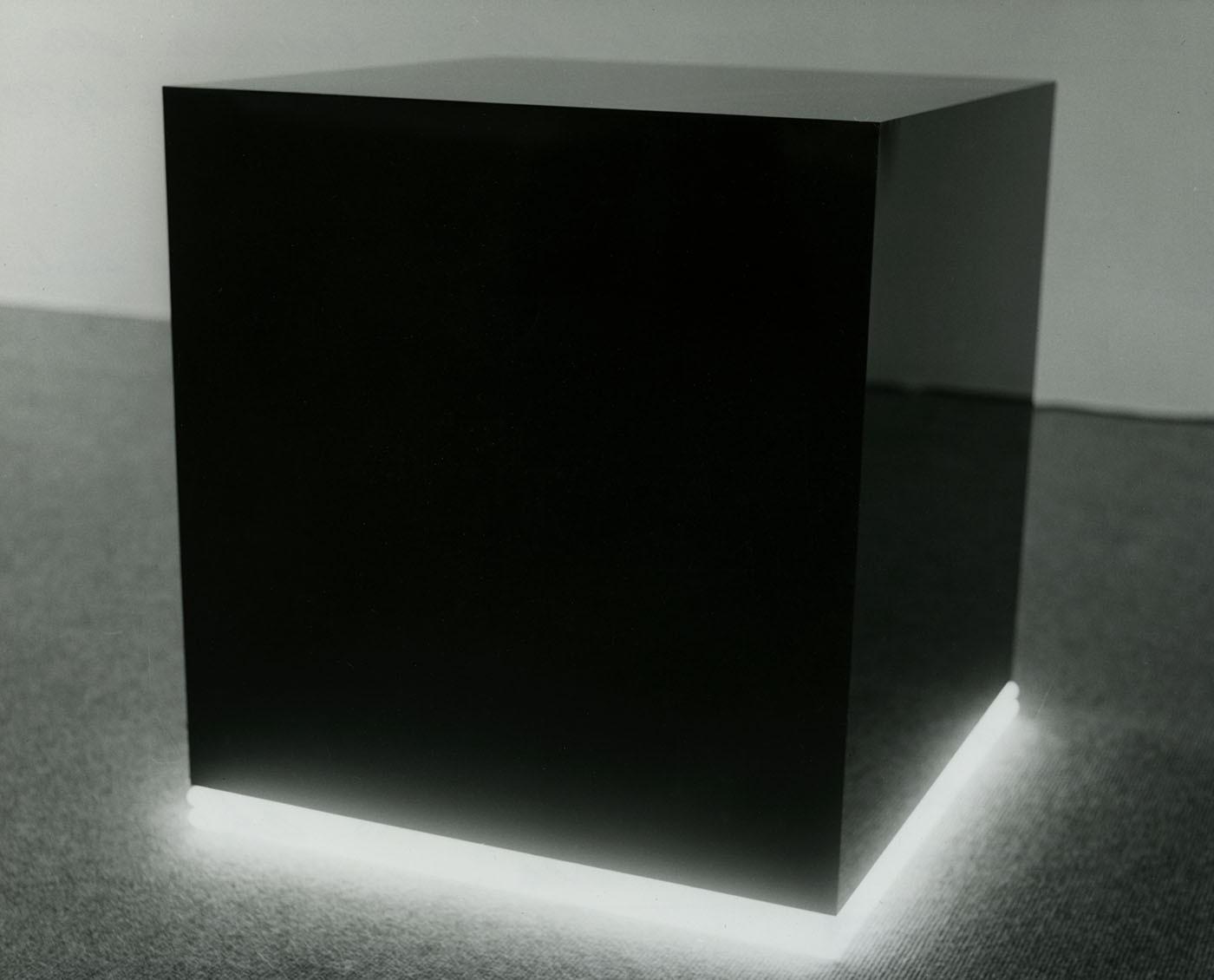 Black cube, 1974