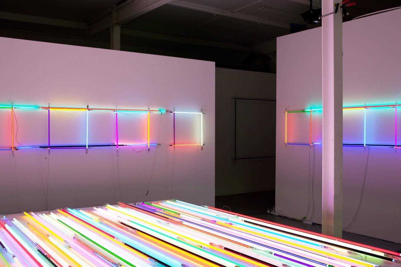 Neon/Argon squares, 2012