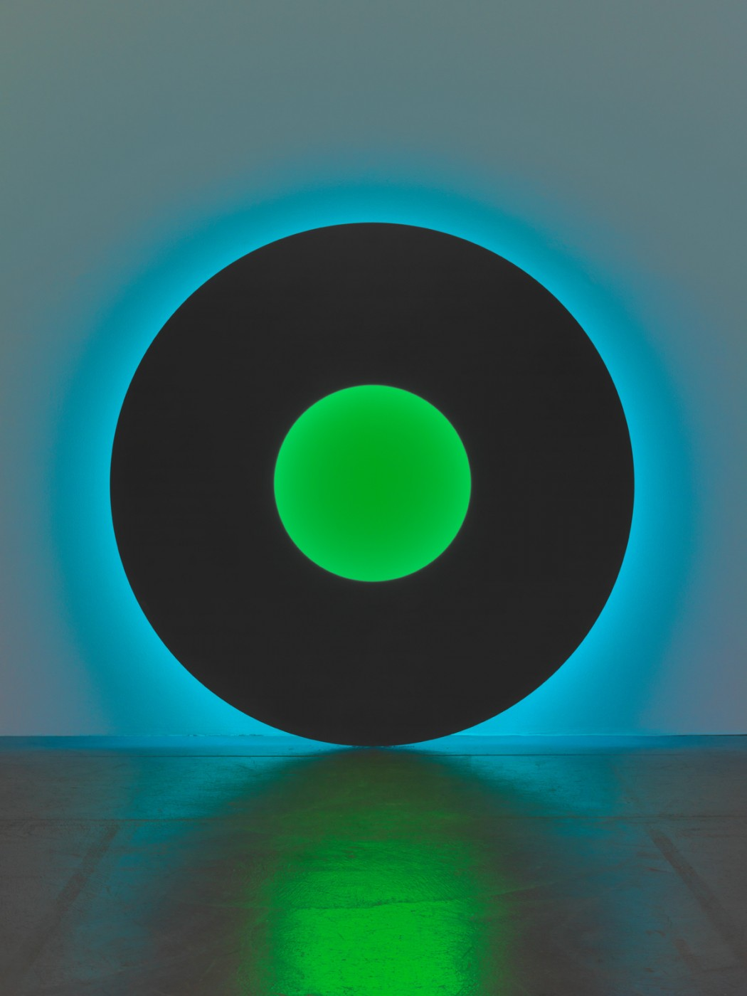 Large Disc, Black/Green, 2006