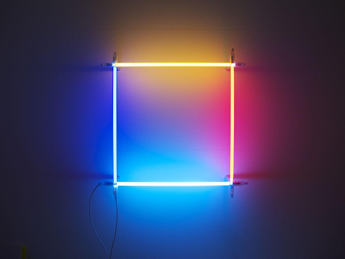 Neon/Argon square, 2011